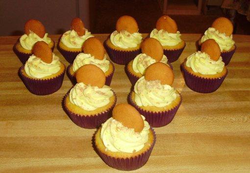 Banana Pudding Cupcakes 1