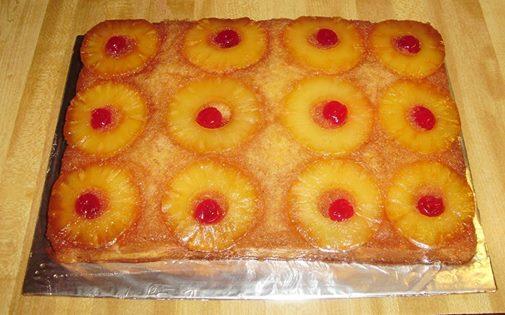 Pineapple Upside Down Cake! | Hazel's Delights