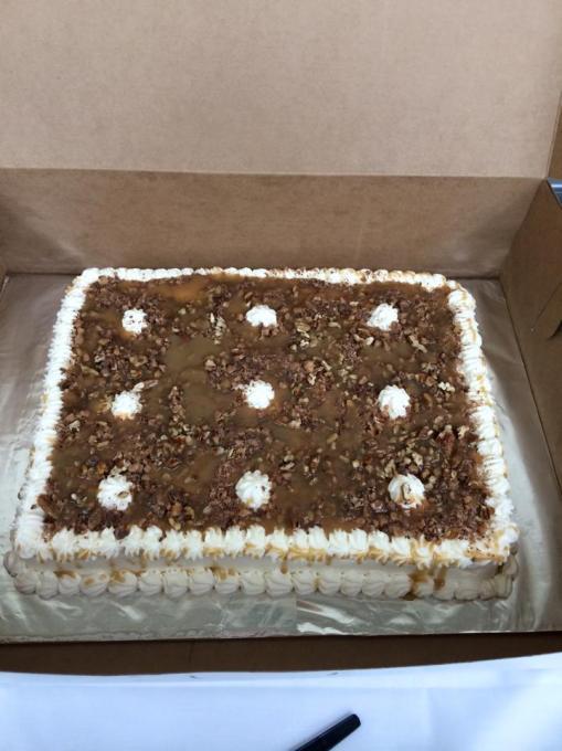 radiology dept. cake